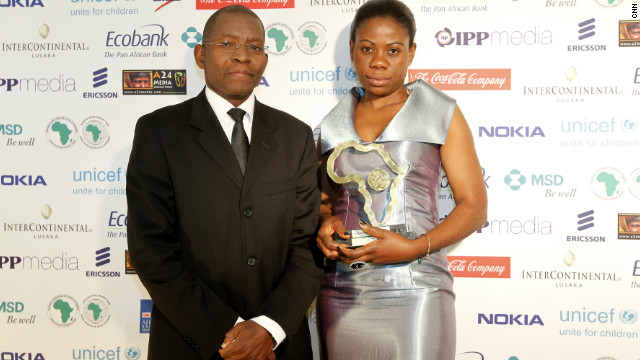 The Portuguese Language General News Award -- Print goes to journalist Isabel João from Angola.