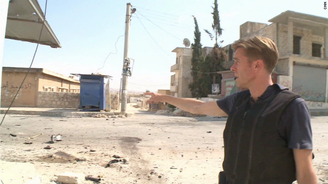 CNN inside Syria: A bloody mess could get messier