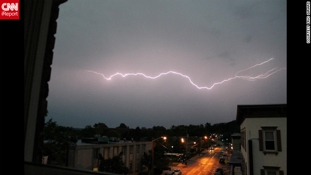 Photos: Storms strike the Northeast