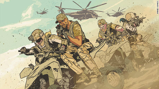 A comic book writer wasn't imagining everything when he told tales of a super secret military unit.