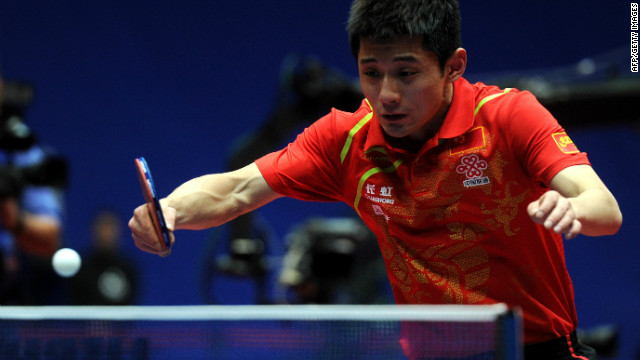 Zhang Jike hopes to score big in China's &quot;national ball game&quot; when he competes in table tennis.