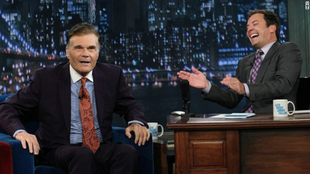 Fred Willard explains story of arrest to Fallon on 'Late Night'