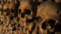 The remains of more than six million people are buried in a vast network of tunnels below Paris, France. People who call themselves 'cataphiles' visit the catacombs illegally and occasionally hold underground parties.