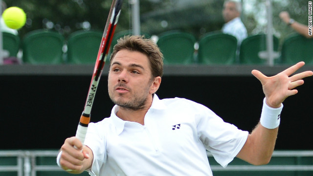 However, this year the duty has been passed to Federer's friend Stanislas Wawrinka, who helped him finally climb onto the Olympic rostrum at Beijing.