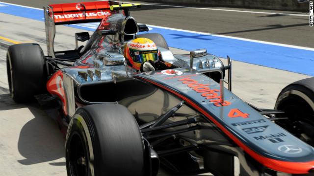 Hamilton gana la «pole» en el Gran Premio de Hungría