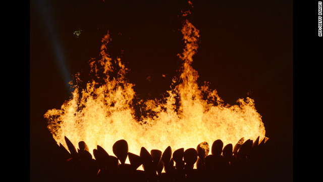 Photos: The Olympic flame\'s journey