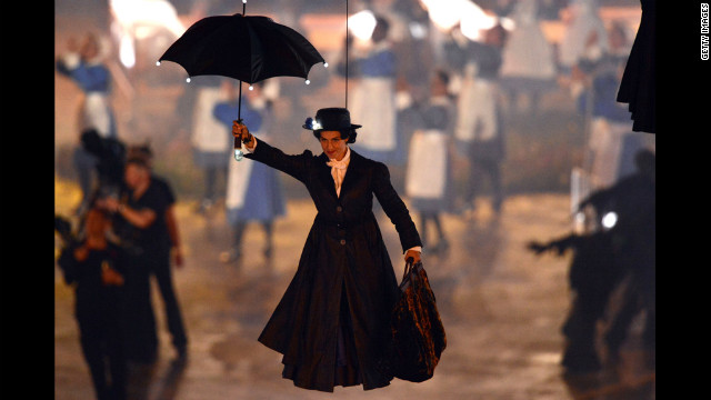 To properly welcome Mary Poppins, each member of the audience was equipped with a spoonful of sugar to help the medicine go down. However, only those able to spell &quot;supercalifragilisticexpialidocious&quot; were permitted to leave.