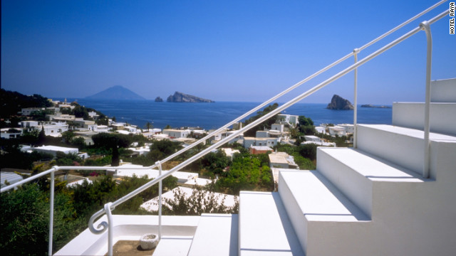 Hotel Raya is one of the island of Panarea's chicest spots.