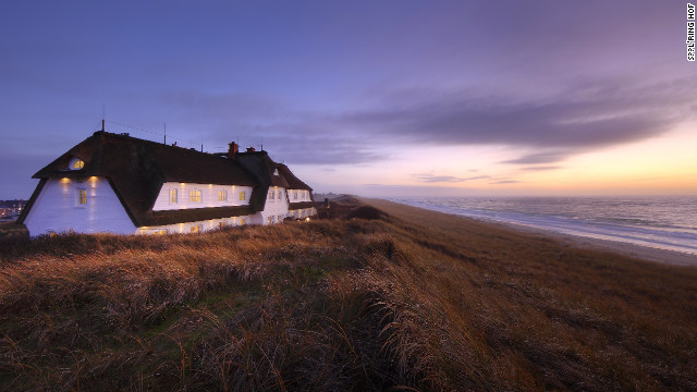 The 15-room Dorint Söl'ring Hof is a reed-thatched inn that rises over dunes studded with wild rose bushes to give guests a view of the sea.