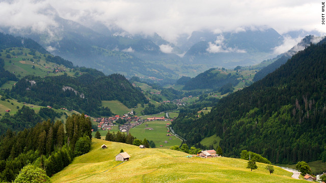 The Jura Mountains in the northwest of Switzerland remain a rugged, undeveloped region that is an anomaly in the resort-speckled country.