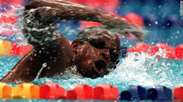 """Eric the Eel"" became something of an Olympic hero when he swam at the 2000 Sydney Olympics. His time of one minute 52.72 seconds in the 100 meters freestyle was the worst in Olympic history."