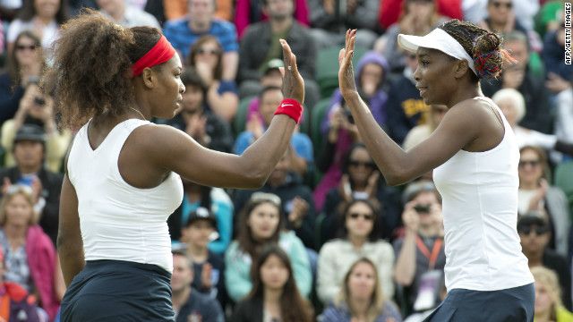 Williams Sisters Tennis Photos http://edition.cnn.com/2012/07/30/sport/tennis/tennis-olympics-williams-serena-venus/