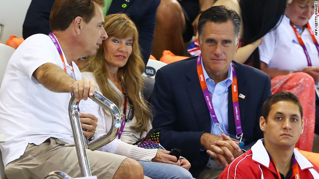 Romney's tour of Jerusalem came after his trip to London, where he sparked a controversy by suggesting that the host city of the 2012 Olympics was not completely prepared for the Games.