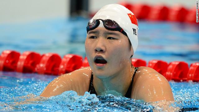China critica las especulaciones contra la «supernadadora» Ye Shiwen