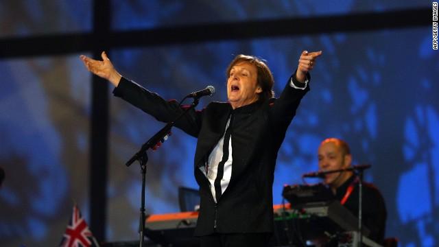 Paul McCartney cobró 1,5 dólares por cantar en los Juegos Olímpicos