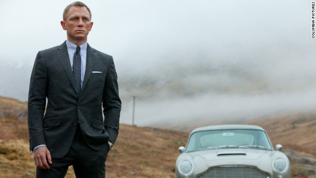 "The release of the 23rd James Bond film, ""Skyfall,"" just happened to coincide with <a href='http://marquee.blogs.cnn.com/2012/10/05/james-bond-at-50-his-best-moments/?iref=allsearch' target='_blank'>this year's 50th anniversary of the Bond franchise</a>. Such perfect timing undoubtedly helped propel <a href='http://marquee.blogs.cnn.com/2012/11/09/skyfall-one-of-the-best-bond-films-ever/?iref=allsearch' target='_blank'>what some have hailed as the best ""Bond"" movie in years</a> to the top of the box office. In fact, <a href='http://insidemovies.ew.com/2012/12/11/skyfall-james-bond-franchise-booming/' target='_blank'>it had the biggest opening for a ""Bond"" movie ever</a>. <a href='http://marquee.blogs.cnn.com/2012/10/05/adeles-skyfall-theme-whats-the-verdict/?iref=allsearch' target='_blank'>Having a theme song from the singer with the Midas touch, Adele</a>, probably didn't hurt either."