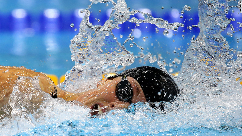 U.S. swimmer Allison Schmitt competes in the women's 200-meter freestyle final on Day 4 of the London Olympics on Tuesday, July 31. Check out <strong><a href='http://www.cnn.com/2012/07/30/worldsport/gallery/olympics-day-three/'>Day 3 of competition</a></strong> from Monday, July 30. The Games ran through August 12.