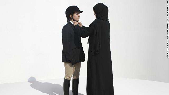 Qatari equestrian Maryam Al Boinin.
