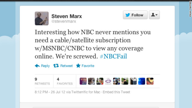 Did #NBCFail?