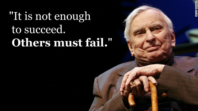 A dozen thoughts from Gore Vidal