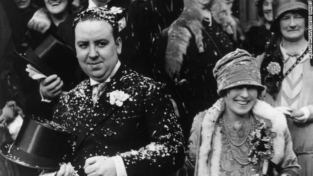 Hitchcock was already a big name in the British movie business before he and his family moved to the U.S. in 1939. He married long-term collaborator Alma Reville at Brompton Oratory in upmarket Kensington in December 1926.
