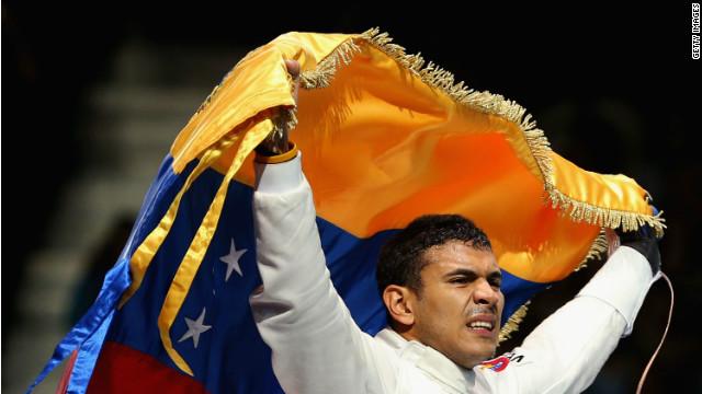 Rubén Limardo gana oro para Venezuela en los Juegos Olímpicos de Londres