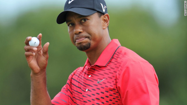 American golfer Tiger Woods moved up to second in the world rankings with his third-place finish at the British Open last month.