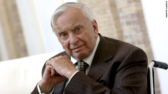 Gore Vidal, the eclectic writer who faithfully chronicled the major shifts and upheavals in the United States, appears at a Rome literary festival in 2006. Vidal died Tuesday, July 31, of complications from pneumonia, a nephew said. He was 86.