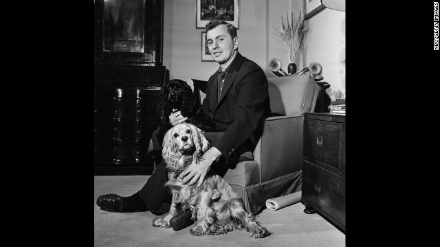 "Vidal at home in an undated picture. Vidal's 1948 work, ""The City and the Pillar,"" featuring an openly gay character, brought him notoriety at a time when homosexuality was still considered immoral."