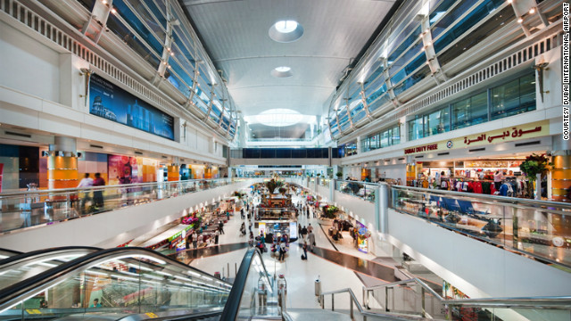 The world's largest airport building is in Dubai. First opened in 2008, the 12.76 million square foot Terminal 3 has boosted the handling capacity of Dubai International Airport to 60 million passengers a year.