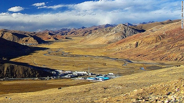 The world's highest airport sits at 14,219 feet above sea level. Surrounded by mountains, Qamdo Bangda Airport in Tibet operates a scheduled airline service but requires an extra-long runway (13,794 feet) to accommodate the extended stopping distance caused by the lack of atmospheric resistance at that altitude.