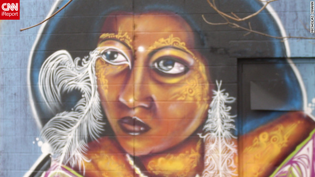 "Street art from Rochester, New York. ""The culture of street art in Rochester in my opinion is very advanced,"" <a href='http://ireport.cnn.com/docs/DOC-798157'>iReporter Nick Swann</a> said."