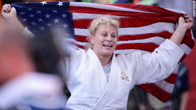 Harrison grabs first U.S. Olympic judo gold