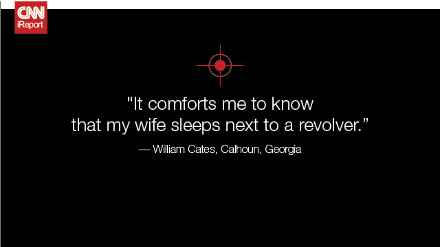 <a href='http://ireport.cnn.com/docs/DOC-819106'>Read William Cates' original story on iReport</a>.