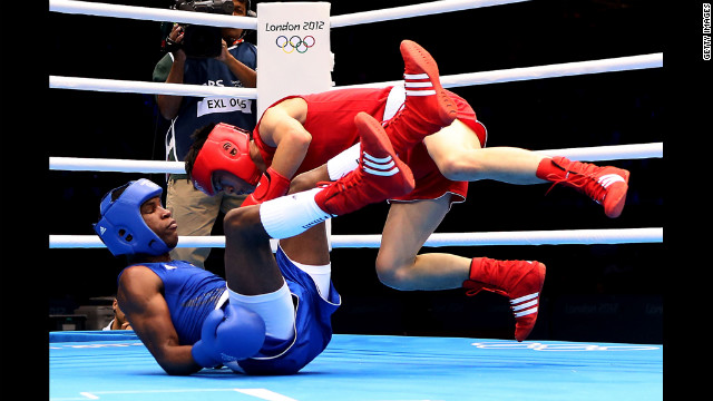 Believing that boxing is for wimps, Cuban and Chinese fighters get into a good old-fashioned brawl.