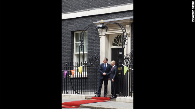 British Prime Minister David Cameron and Russian President Vladimir Putin announce that the UK is trading Wales to Russia in exchange for 300 cans of borscht and a used copy of &quot;The Brothers Karamazov.&quot;