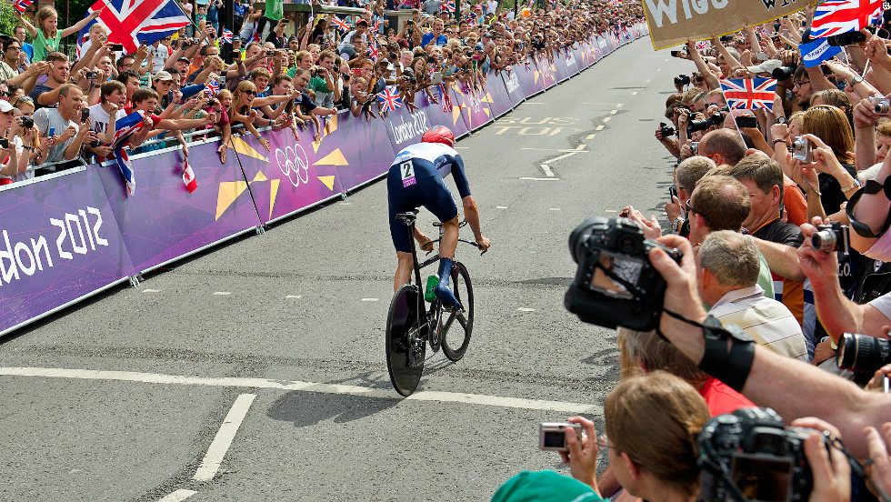 Bradley Wiggins became Great Britain's most decorated Olympian after winning gold in the men's time trial -- the seventh medal of his illustrious career.