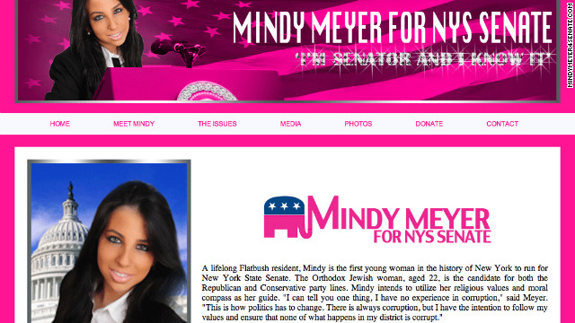New Yorks &#039;Magenta yenta&#039; candidate vows to &#039;leave the pink at home&#039;