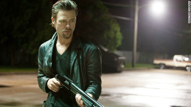 "Pitt played a mob enforcer in 2012's ""Killing Them Softly."""