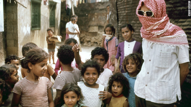 The formation of neighbouring Israel in 1948 led to an exodus of Palestinian refugees into southern Lebanon.<br/><br/>The U.N. estimates that of Lebanon's 5 million residents, 455,000 are Palestinian refugees (like those pictured here in Beirut in 1973).<br/><br/>According to the British Foreign and Commonwealth Office Lebanon is home to 18 separate religious sects and several different ethnic groups.
