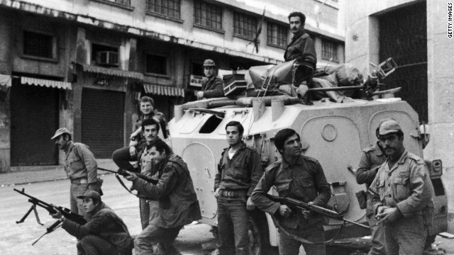 The civil war broadly pitted Palestinian and pro-Palestinian Muslim militias against Lebanon's Christian militias, devastating the country in the process<!-- -->.</br><!-- --> </br> An estimated 150,000 people were killed during the course of the conflict whilst thousands more fled the country.