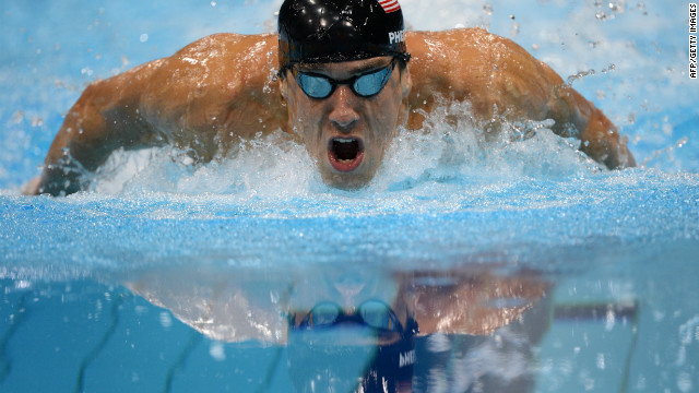 Michael Phelps gana la medalla de oro en 100 metros mariposa en los Juegos Olímpicos