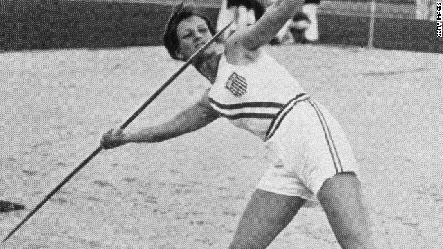 "Robinson was lucky to survive a plane crash in 1931, and the following year Mildred ""Babe"" Didrikson took over her mantle as the top U.S. woman athlete, winning gold in hurdles and javelin at the Los Angeles Olympics and silver in the high jump."