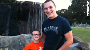 Shane Farlin and his son Shane Farlin II 