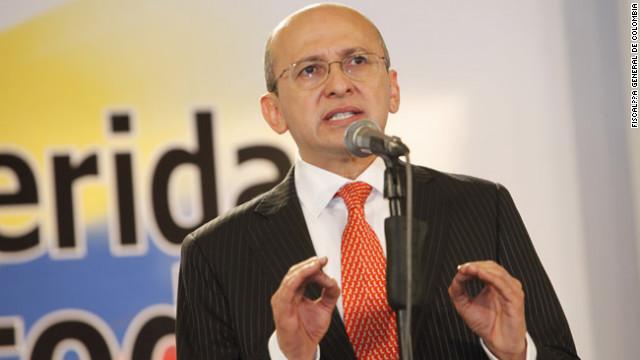 El fiscal general de Colombia Eduardo Montealegre, en Conclusiones