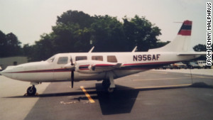 An undated photograph of the plane Stewart Dunbar was piloting when Stewart Dunbar disappeared on February 17, 1996.
