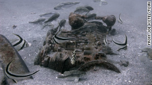 Joe Kistel, the executive director of TISIRI, recently found plane parts off the coast of Florida.