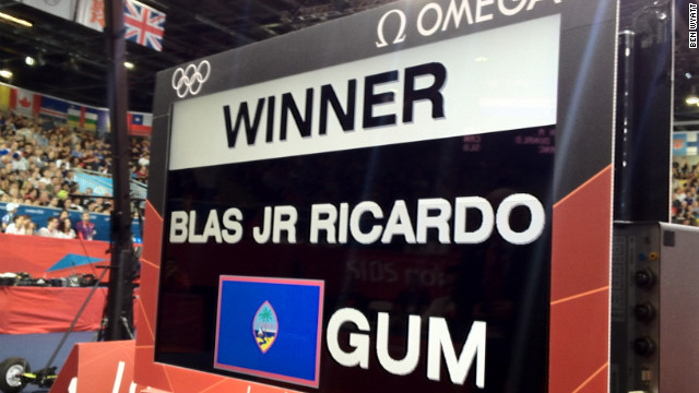 And Blas Jr., who trains for four to six hours everyday, doesn't fail to deliver. The first-round win over Facinet Keita of Guinea was Guam's first such win in its history, a major achievement for the judokan player.