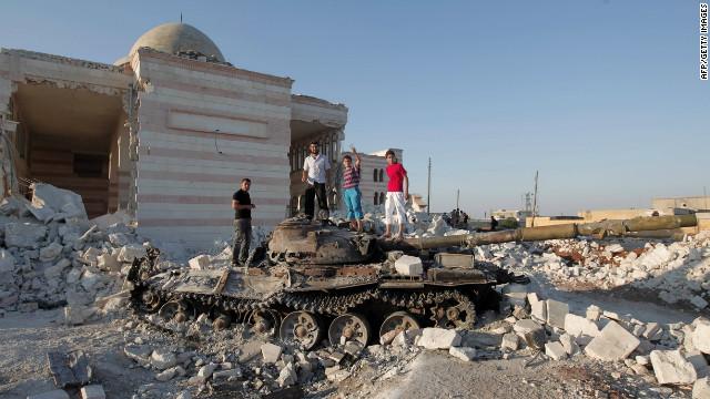 La oposición siria reporta una masacre en Hama