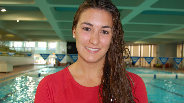Angelique Trinquier was also a flag bearer for a nation with high hopes of bagging their first medal on the biggest stage of them all. The 21-year-old swimmer is Monaco's 100m backstroke specialist.